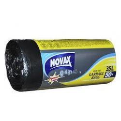 Пакет/сміття 35л*50шт Novax