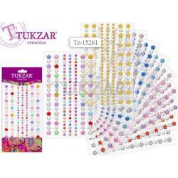 Декоративні стрази-наліпки TZ15261