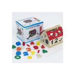 Дерев'яна гра Дім-Логіка 0398