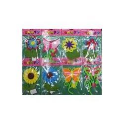 Набір для творчості Квітка, метелик з фетра 16см асорті 272-3