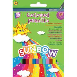 """Олівці кольорові """"Sunbow"""", 18 кольорів CF03103"""