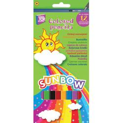 """Олівці кольорові """"Sunbow"""", 12 кольорів CF02103"""