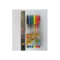 Набір ручок кульк.BIEFA 927-6 6кол.