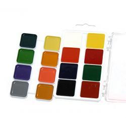 Фарба акварельна Захоплення 16 кольорів 312062