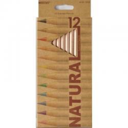 Кольрові олівці 6100-12СВ 12кол. Natura