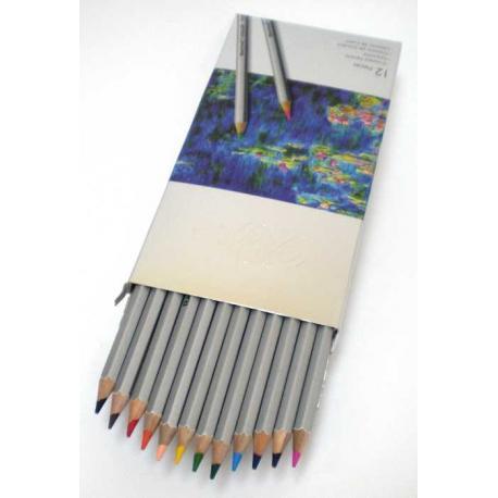 """Кольрові олівці 7100-12СВ 12кол. """"Raffine"""""""