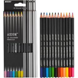 Кольрові олівці 8101-12СВ 12кол. Axiom