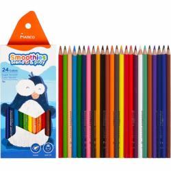 "Кольрові олівці 2150-24СВ 24кол.  ""Smoothies b&p"" супермякі"