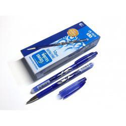 Ручка гел. RA6S/707F пиши-стирай синя