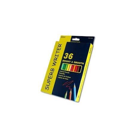 """Кольрові олівці Marco 4100-36СВ 36 кольорів """"Super write"""""""