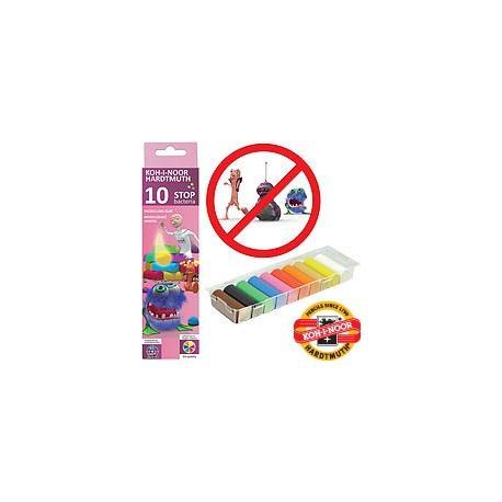 Пластилін 10 кол.200г Stop bacteria 131810