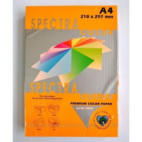 Папір кол. А4 80г 100арк. Spectra Color інт. оранж. ІТ240