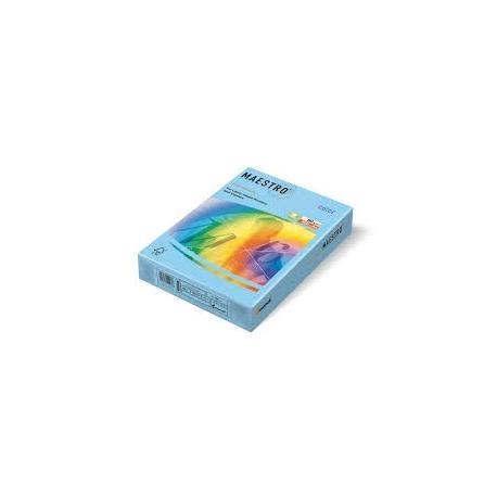 Папір кол. А4 80г 500 арк.МС паст.т/блакитн. OBL70