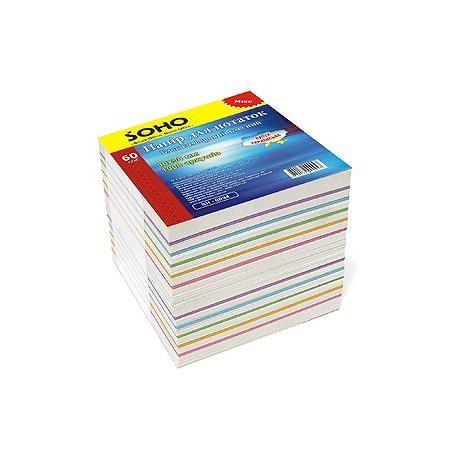 Папір для нотаток 90*90 1000арк. Mix Soho 0094  (2811)