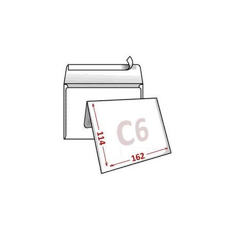 Конверт C6 114*162 мм 80г/м KL 2316