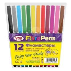 Фломастеры  12 цвет. СС12 VGR