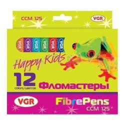 Фломастерs  12 цвет. ССM125 VGR