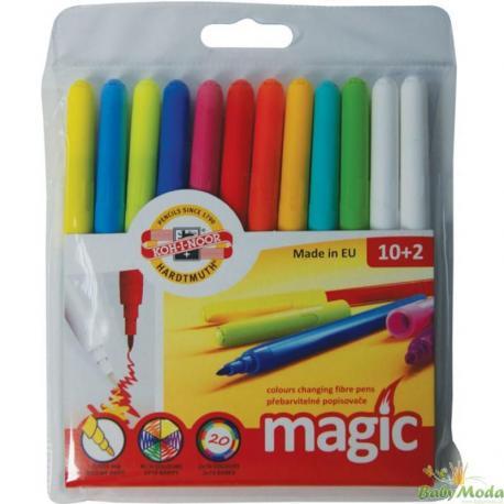 "Фломастери ""Magic"" 7716/12 набір 10+2 шт."