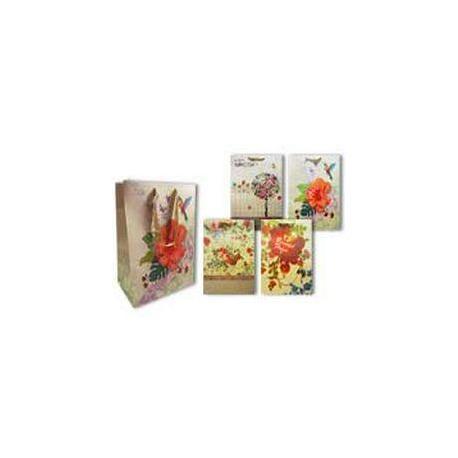 Пакет паперовий подарунковий 45*31*9  Стильні Квіти TZ 9594
