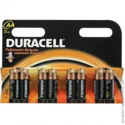 Элемент питания Duracell Basic АА LR6  (8шт/уп)