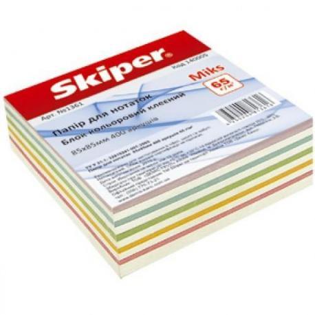 Папір для нотаток 85*85*400арк.cкл. SK 140005