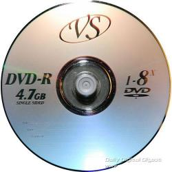 Диски DVD+R  VS  7.4GB (50шт/уп)