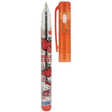 Ручка кульк. з ліхтариком Hello Kity  035 K
