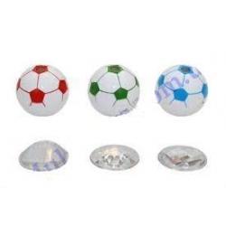 Калейдоскоп-мячь, 5см, 3 асс., полибег 9002B