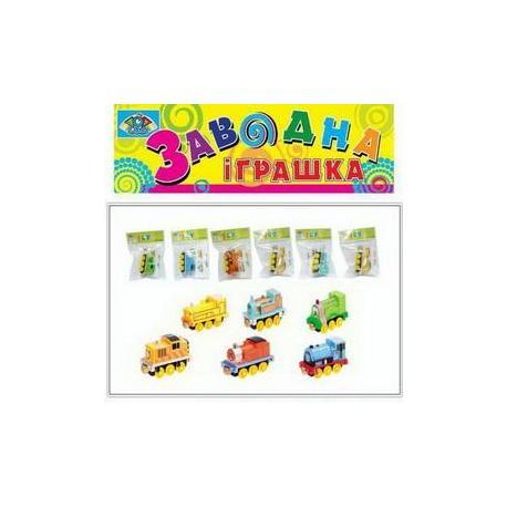 Паровоз заводний, 6ас., блістер 8068A-3