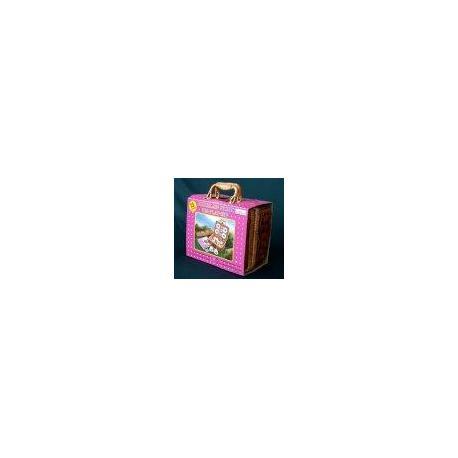 """Чайний набір у плет.корз.з футляром,13од. Дизайн""""Лінивий ведмідь"""" CH9713M"""