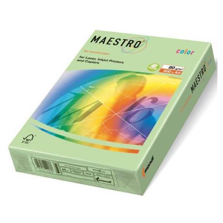 Папір кол. А4 160г 100арк. Uni Color Pastell  Green 151244