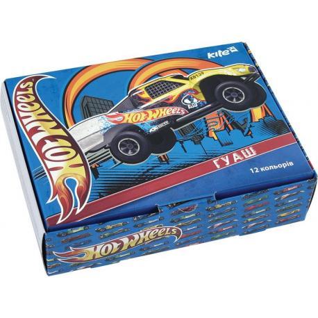 Гуаш 12 кол. Hot Wheels 20мл HW13-063K