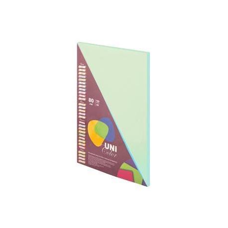 Папір кол. А4 80г 100арк. Uni Color Pastell  Green 151219