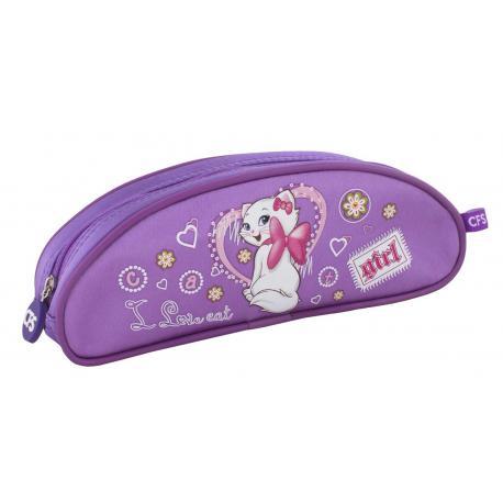 """Пенал м'який """"Sweet Kitty """",  овальний CF85509"""