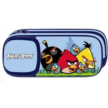 """Пенал м'який """"Angry Birds"""", прямокутний AB03360"""