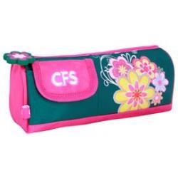 """Пенал м'який """"Flowers"""", прямокутний CF85310"""