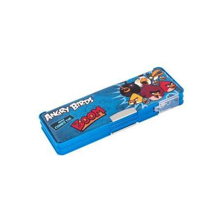 """Пенал пластиковий на магніті з чинкою, 2 відділення """"Angry Birds"""" AB03372"""