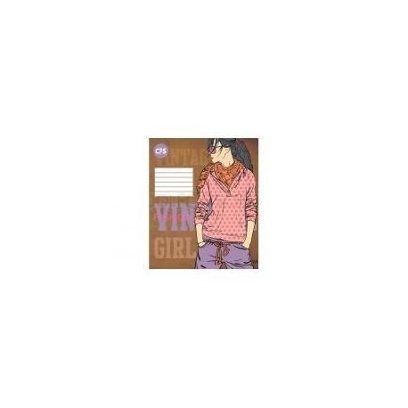 """Зошит шкільний кл. """"Vintage Girls"""", 48 аркушів CF23005-09"""