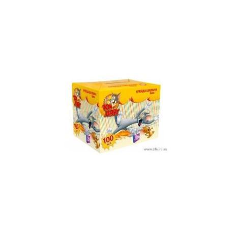 """Крейда""""Tom and Jerry"""". Шкільна біла. 100 шт TJ02633"""
