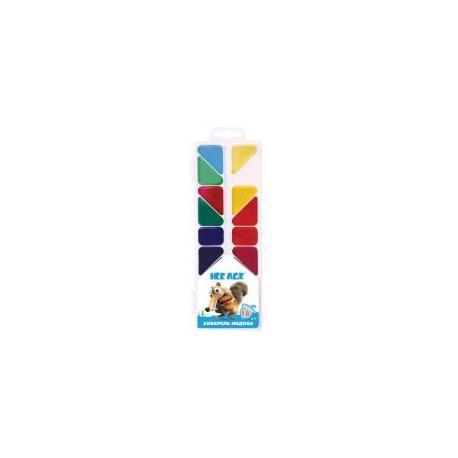 """Фарби акварельні медові """"Ice Age"""", 18 кольорів IA09674"""
