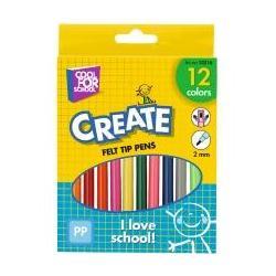 Фломастеры цветные, 12шт в коробке CF15216