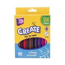 Фломастеры цветные, 24 шт в коробке CF15217