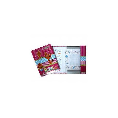 """Папка для зошитів В5+ """"Рюкзачок"""" картон/лам."""