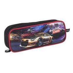 "Пенал м'який ""Racing Cars"", прямокутний CF85507"