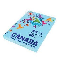 Папір кол. А4 80г 100арк. CANADA CN2013 пастель блакитний
