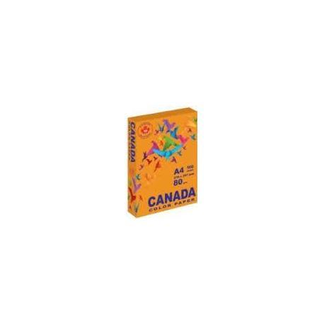 Папір кол. А4 80г 100арк. CANADA CN2017 інтенсив помаранчовий