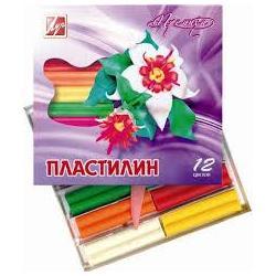 Пластилин Луч Премиум восковый 12цвет. 1223