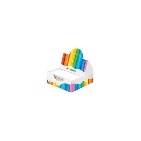 Папір для нотаток Rainbow в папер.пеналі
