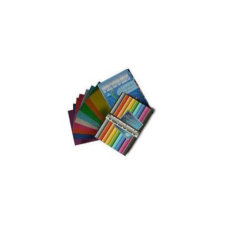 Картон кольоровий А4 9арк. 9кол. металік Бумвест 9В01