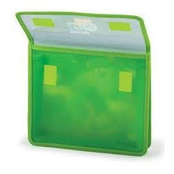Папка для зошитів А5 на липучці пластик/тканина ПЗ-7-1307 Полімер